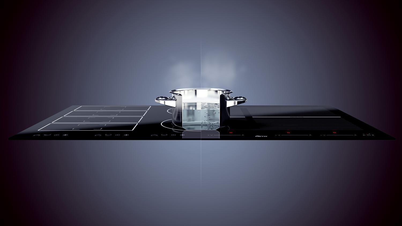 animacja techniczna 3D indukcji