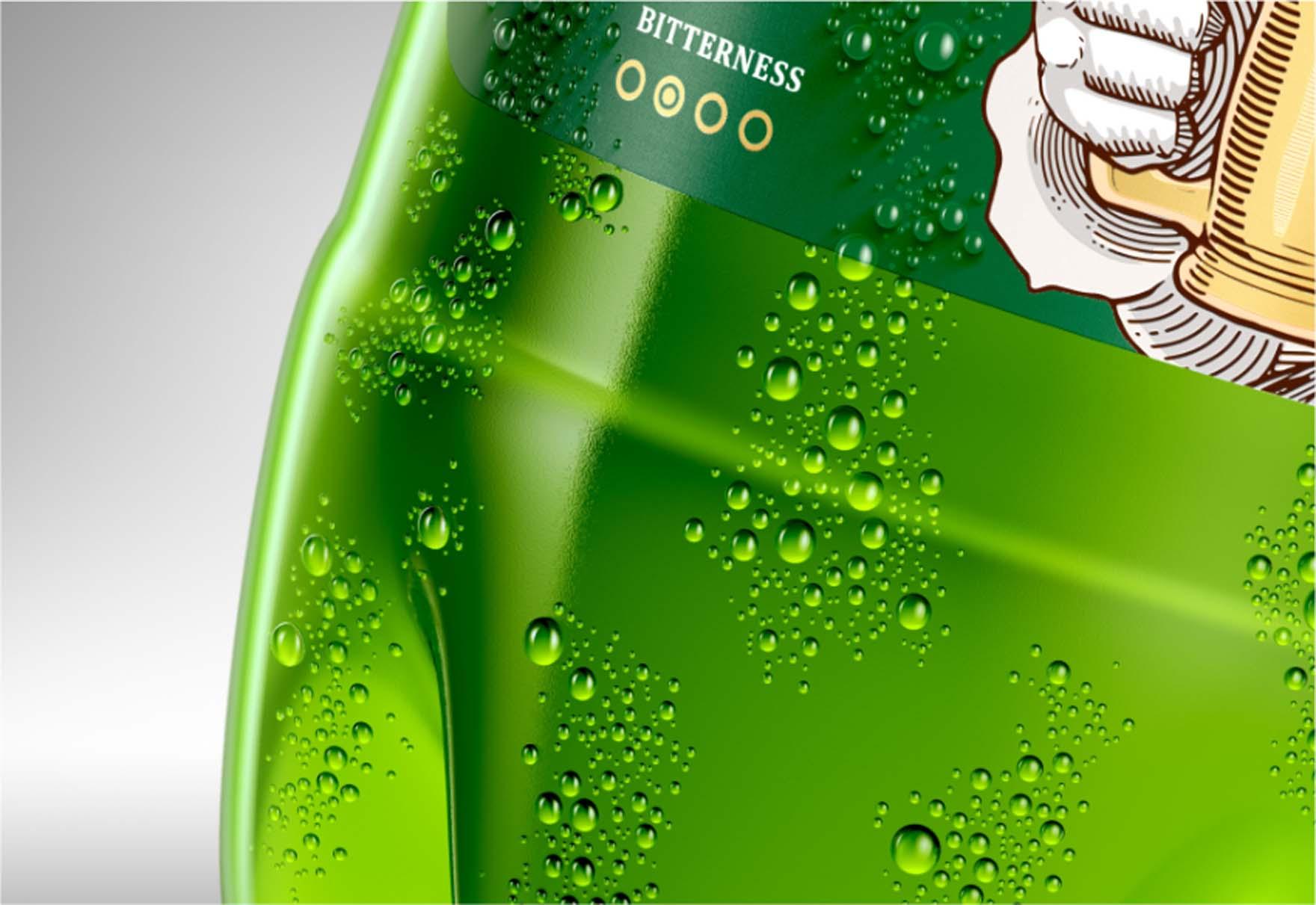 Wizualizacja Plastikowej Butelki Pet