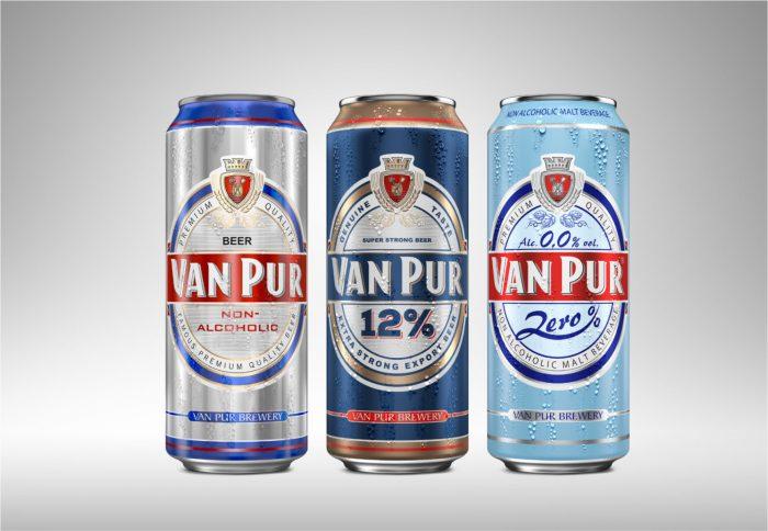 wizualizacja 3D piwa van pur
