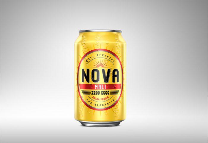 wizualizacja 3D piwa nova malt