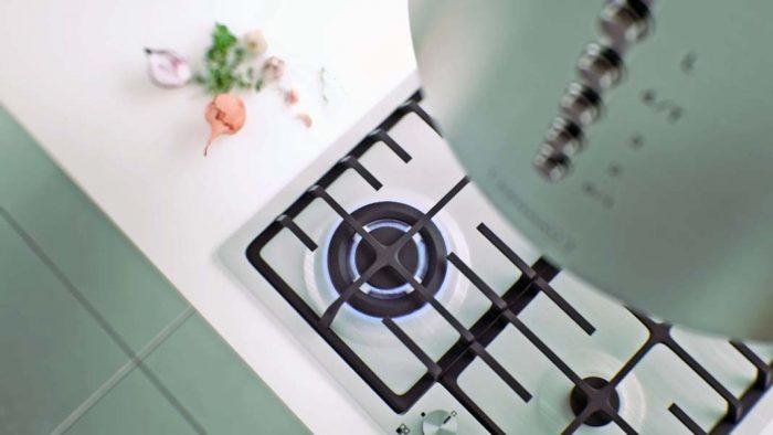 Kernau animacja płyty gazowej