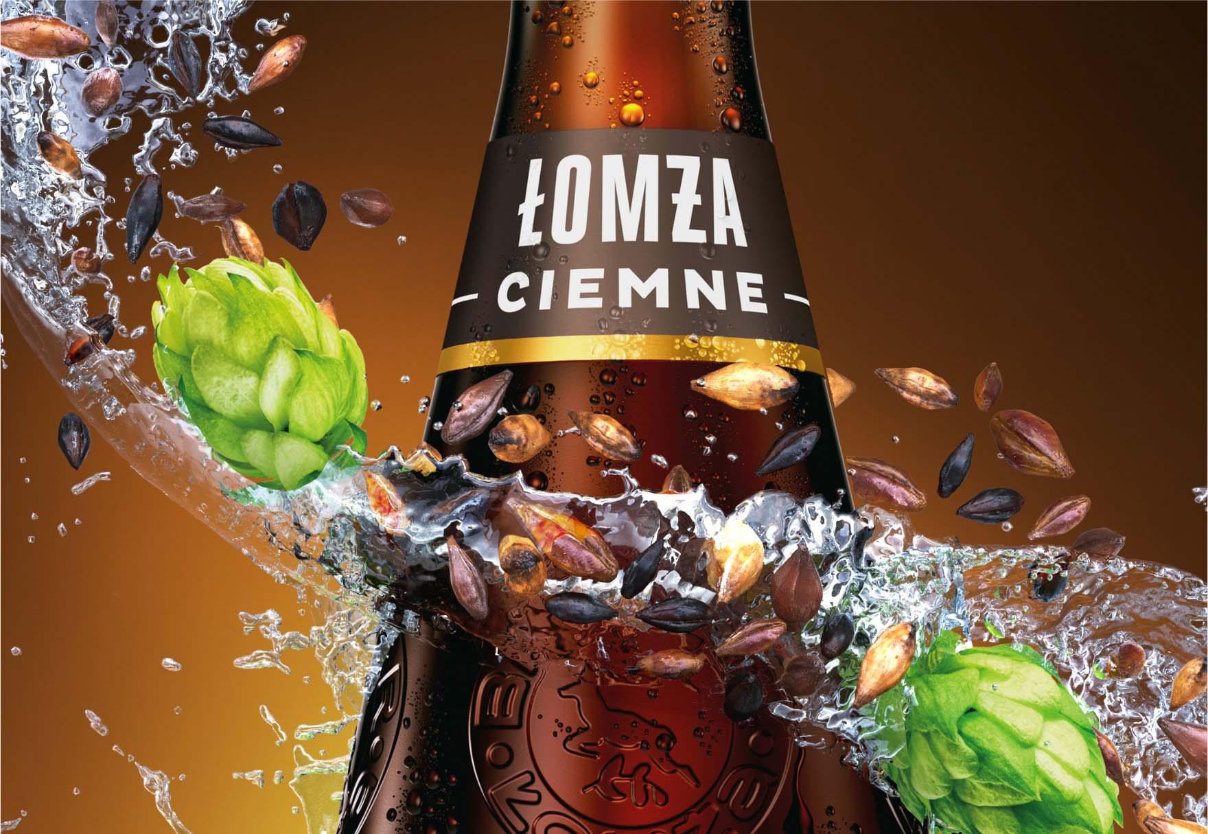 Wizualizacja opakowania piwa