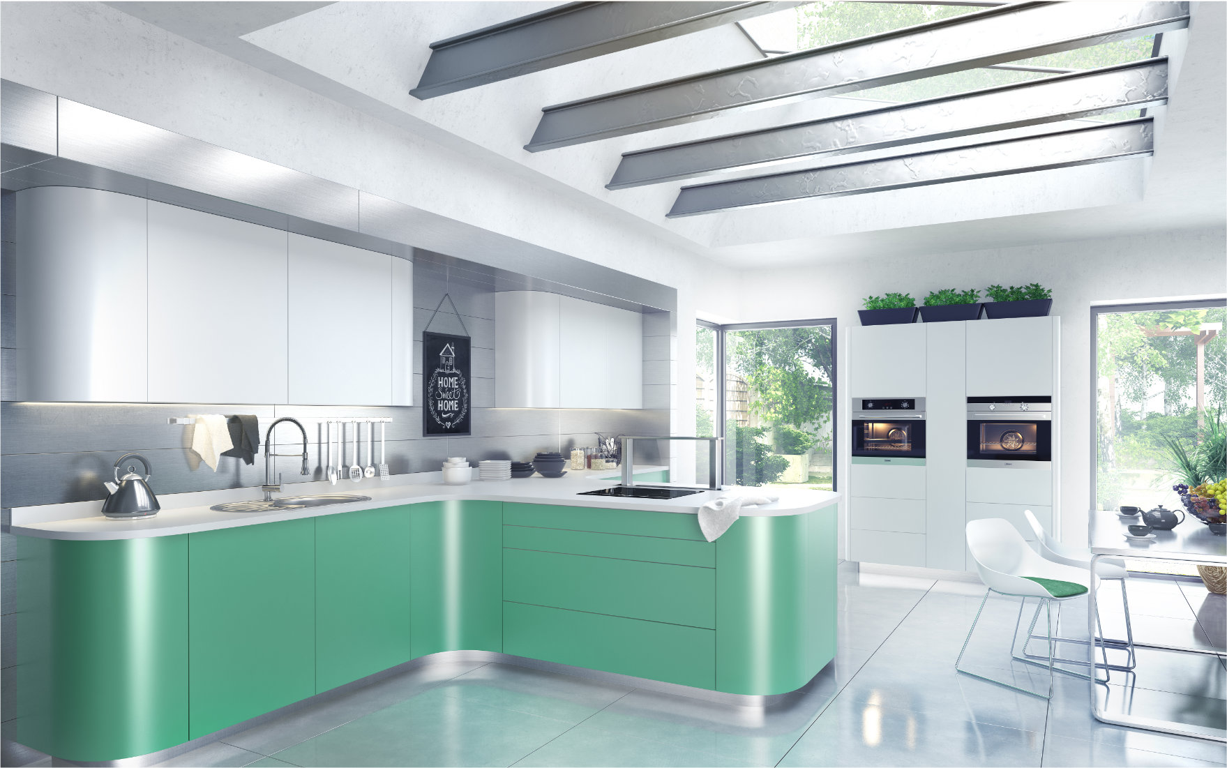 Wizualizacja 3D kuchni Hofemeier