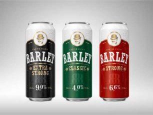 3d puszka piwa Barley