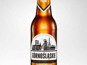 Render 3D butelki piwo Górnośląskie